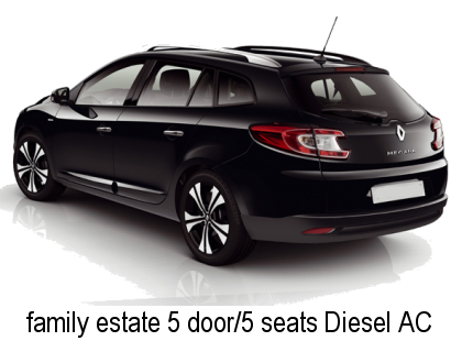 Faro Car Hire Family Estate Diesel AC